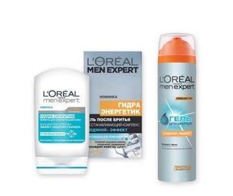 Засоби для та після гоління L'Oreal Men Expert