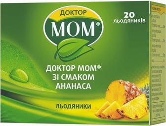 Доктор Мом леденцы от кашля №20 (ананас)