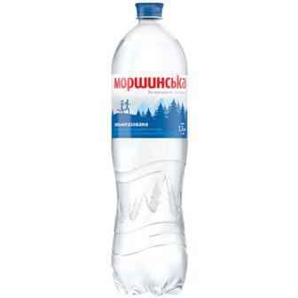 Скидка 15% ▷ Вода мінеральна Моршинська газ. 1.5л