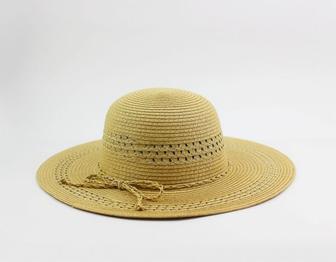 Шляпа с широкими полями перфорация 4335