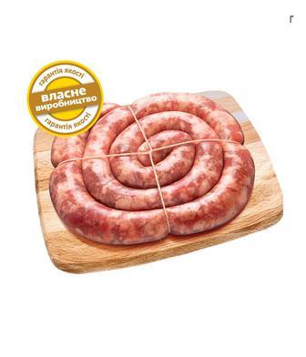 Ковбаса Домашня зі свинини 1 кг