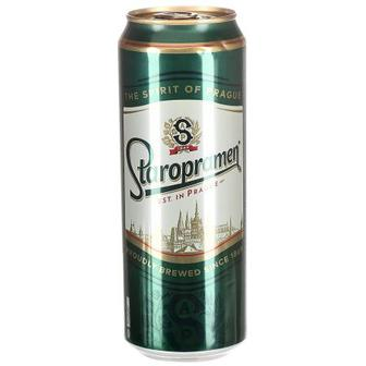 Пиво Старобрамен 0.5л