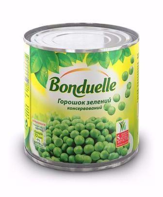 Горошок зелений Bonduelle 400г