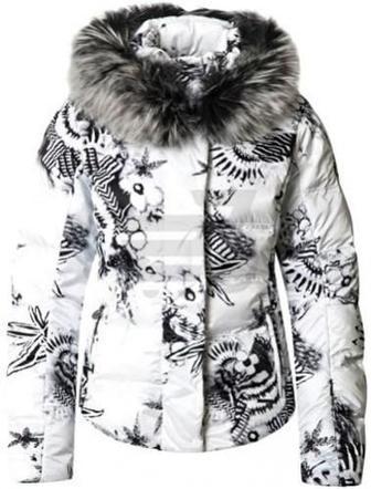 Куртка Sportalm Kitz Druck Mi M.Kap+P 862148125-01 42 білий