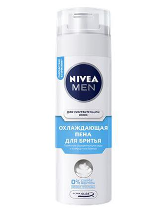 Пена для бритья Nivea охлаждающая 200 мл