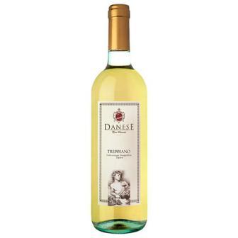 Вино Danese Trebbiano біле сухе Італія 0.75л