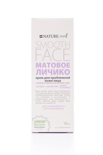 Крем для лица NATURE.med для проблемной кожи Матовое лицо 50мл