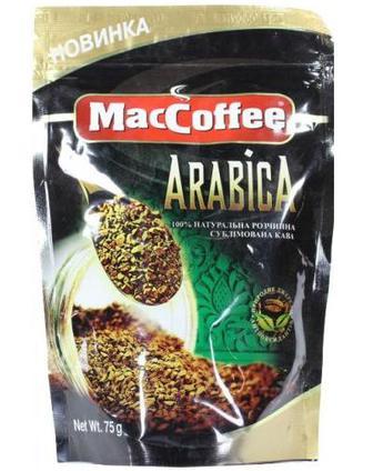 Кава розчинна Arabica MacCoffee 75г