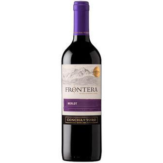 Скидка 35% ▷ Вино Frontera Merlot 0,75л