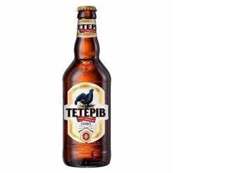Пиво Тетерів світле 8%, ППБ, 0,5 л