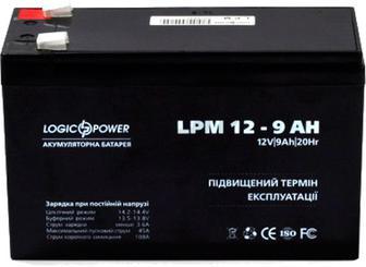 Акумулятор AGM 12 - 9.0 AH LogicPower