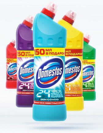 Средство для чистки Domestos