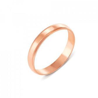 Обручальное кольцо классическое. Артикул 1003/1-375