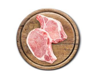 Свинина, биток з кісткою (корейка) охолоджений, кг