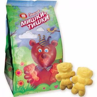Печиво ХБФ Ведмедики-Тишки, 250г