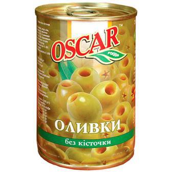 Оливки Oscar зелені 300г