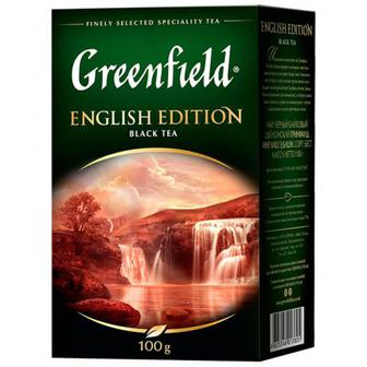 Чай Greenfield English Edition чорний 100г
