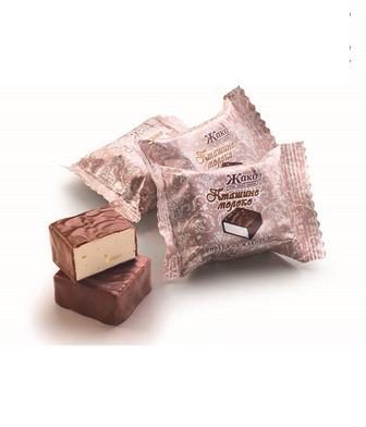 Цукерки Пташине Молоко зі смаком крем-какао 1 кг