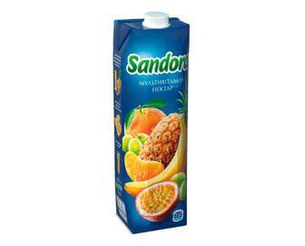 Скидка 34% ▷ Нектар Sandora мультивітамін, 0,95л