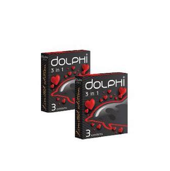 Презервативи  Долфі 3 шт