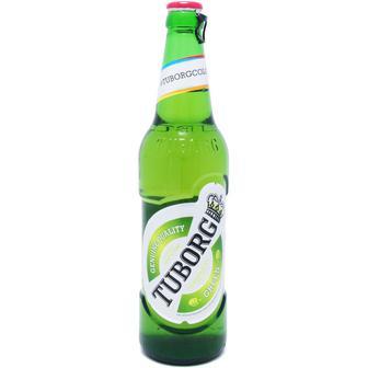 Пиво світле Tuborg Green 0,5л