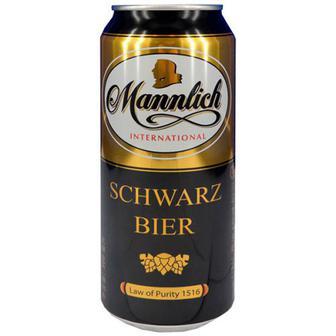 Пиво Blreor Deutsches Schwarzbier 0,5л