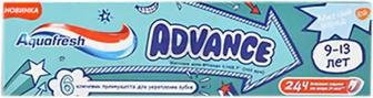 Зубна паста Aquafresh Advance 9-13 лет 75 мл