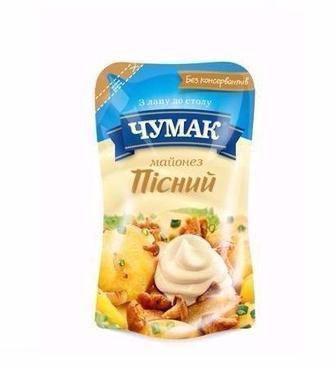 Майонез Пісний Чумак 180г
