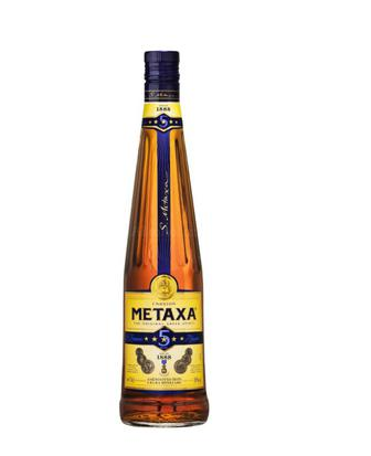 Алкогольный напиток 5* Метакса 0,5 л