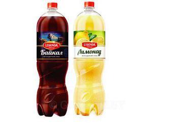 Напиток газированный Байкал, Лимонад Legenda 2л