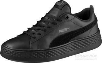 Кеди Puma Smash Platform L 36648701 р. 5 чорний