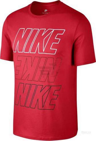 Футболка Nike M NSW TEE AV15 1 893509-657 S червоний