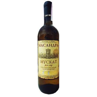 Вино Ординарне Столове червоне, біле напівсолодке Массандра 0,75 л