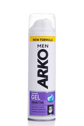 Скидка 40% ▷ Гель для бритья ARKO мужской Экстра чувствительный, 200мл