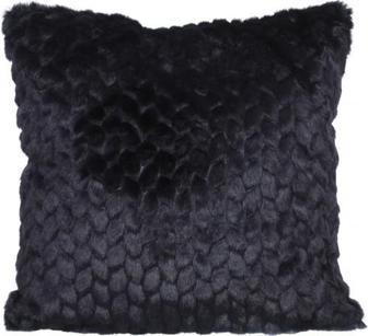 Подушка декоративна Leaf 45x45 см темно-синій La Nuit