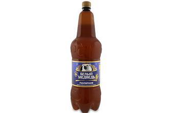 Пиво «Белый медведь» «Полярне» світле, 1,8л