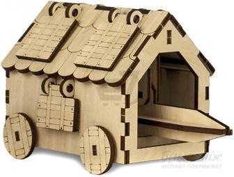 Дерев'яний 3D-конструктор Зірка Знаряддя Таран 100729