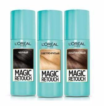 L'OREAL PARIS Magic Retouch Тонуючий спрей для миттєвого фарбування коренів волосся