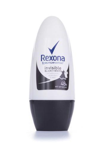 Антиперспирант Rexona шариковый женский Невидимая на черном и белом, 50мл
