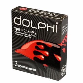 Презервативи  Dolphi  3 шт