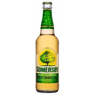 Сидр Somersby Яблочный 4.7% 0.5 л