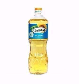Олія соняшникова, рафінована, Олейна Пресова, 870 мл