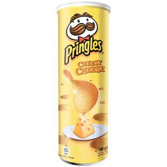 Скидка 20% ▷ Чіпси Pringles Cheesy Cheese 165г