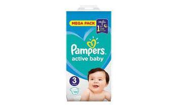 Подгузники PAMPERS Active Baby р3 4-9кг 58шт