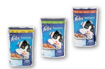 Корм консерви для котів з індичкою/з куркою/ з кроликом, у желе Felix 100 г