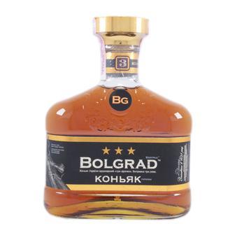 Коньяк 3* 40%, Bolgrad, 0,5 л