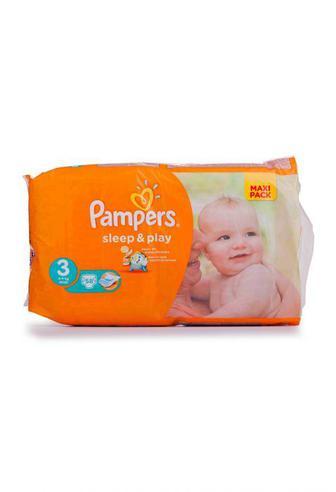 Подгузники PAMPERS Sleep & Play р3 5-9кг 58шт