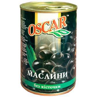 Оливки Oscar чорні 300г