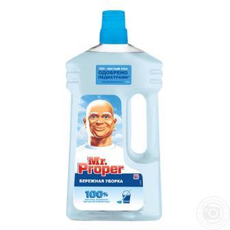 Засіб для підлоги Mr Proper Делікатне прибирання 1л