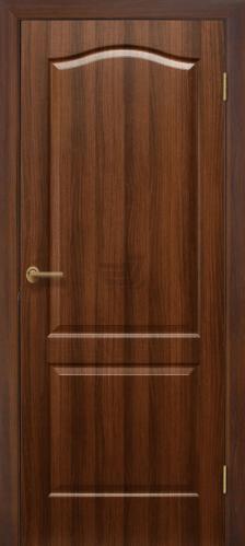 Дверне полотно ПВХ ОМіС Класика ПГ 800 мм горіх